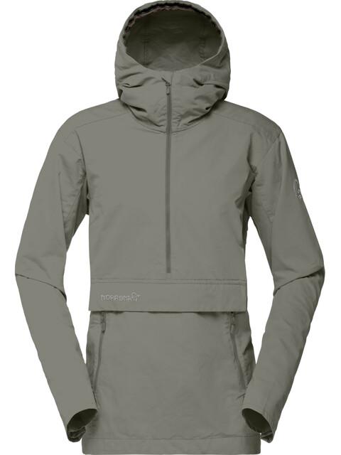 Norrøna W's Svalbard Cotton Anorak Castor Grey